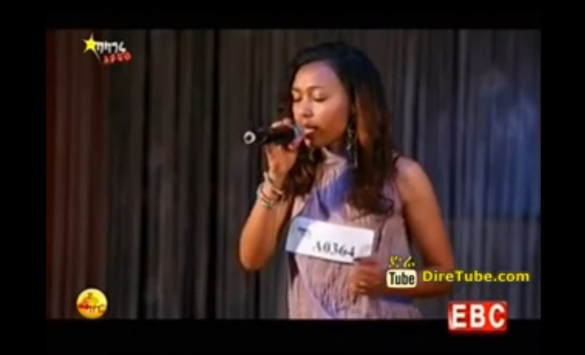 Helen Melaku Sings Hamelmal Abate's Linur on Balageru Idol 4th Round