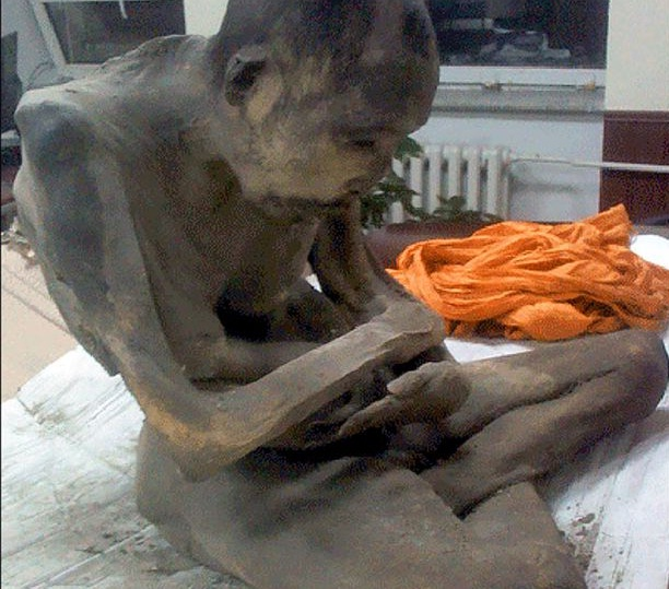 Mummified 200-year-old monk 'NOT dead' but in 'very deep meditation'