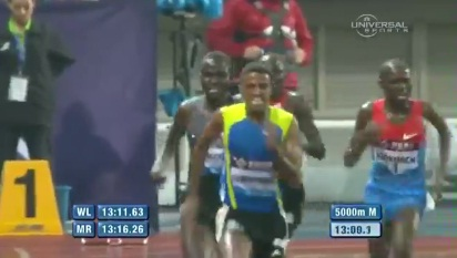 Kenenisa Finished 5th and Hagos Gebrhiwet Wins 5000M in Shanghai