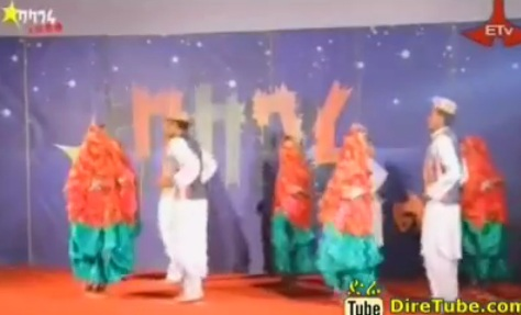 Amshgna Dance Crew Contestant From Harar