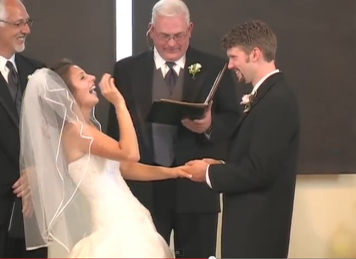 My Waffle Wedded Wife - See How She Laughs on Her Wedding