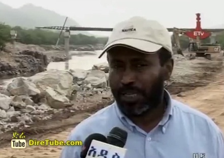Construction of Renaissance Dam is progressing very well: Engineer Simegnew