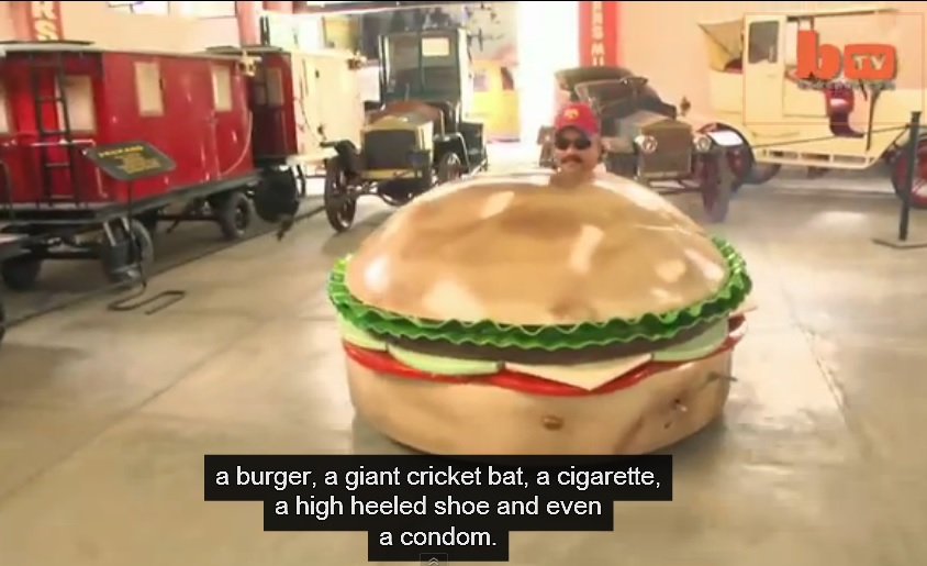 Inventor Creates Cars In Shape Of  Shoe, Toilet And Many More