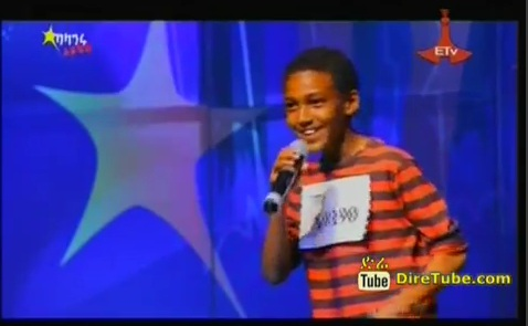 Amanueal Mussa Vocal Contestant Addis Ababa, 2nd Round