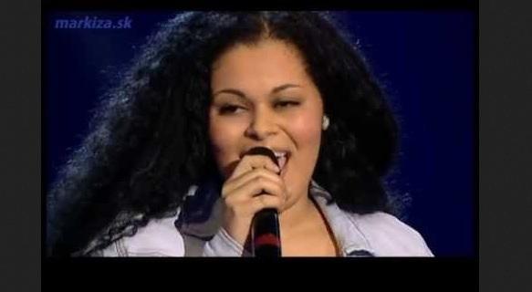 Hlas Česko Slovenska - Anabela Mollová - R. Kelly - I Believe I Can Fly