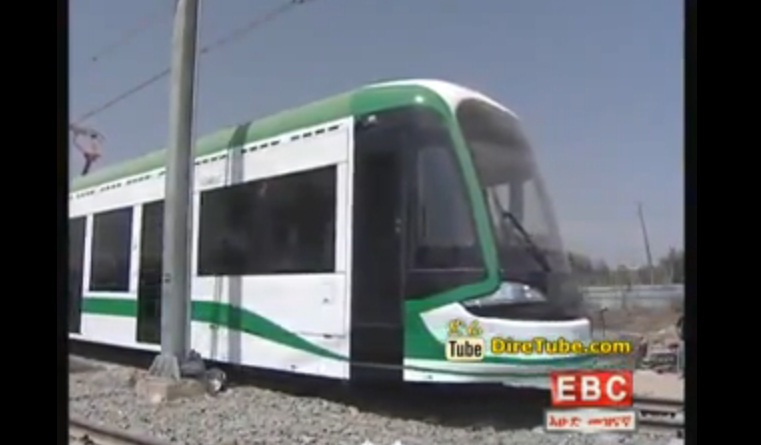 Pre-Service Testing of New Addis Ababa Light Rail Feb 1, 2015