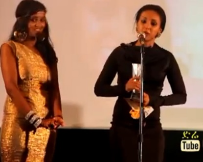 Artist Mahider Assefa - Best Actress of The Year 2013 Winner