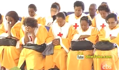 Misrak Addis Meserete Kristos Church prayer for PM Meles Zenawi
