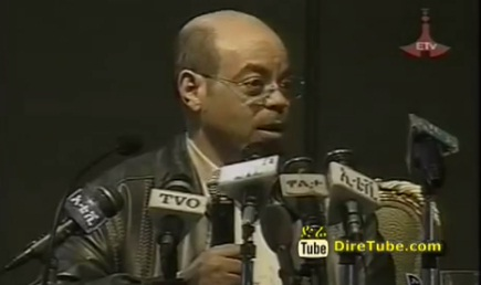 ETV Sunday - Funny Jokes & Memories of Meles Zenawi at the Parliament - Part 2