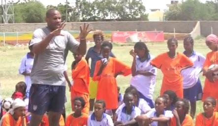 2012 The U.S. Embassy Launches Sports Envoy Program Ethiopia
