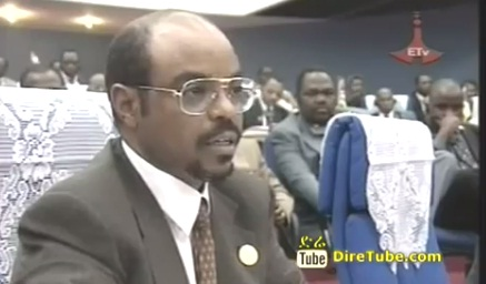PM Meles Zenawi Speech in Togo Lomi 1991 E.C