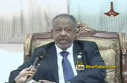 Djibouti President & Burundian VP arrives in Addis to attend Meles funeral