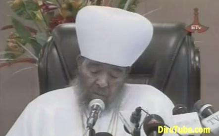 Message of Condolence on Death of Ethiopian Patriarch Abune Paulos