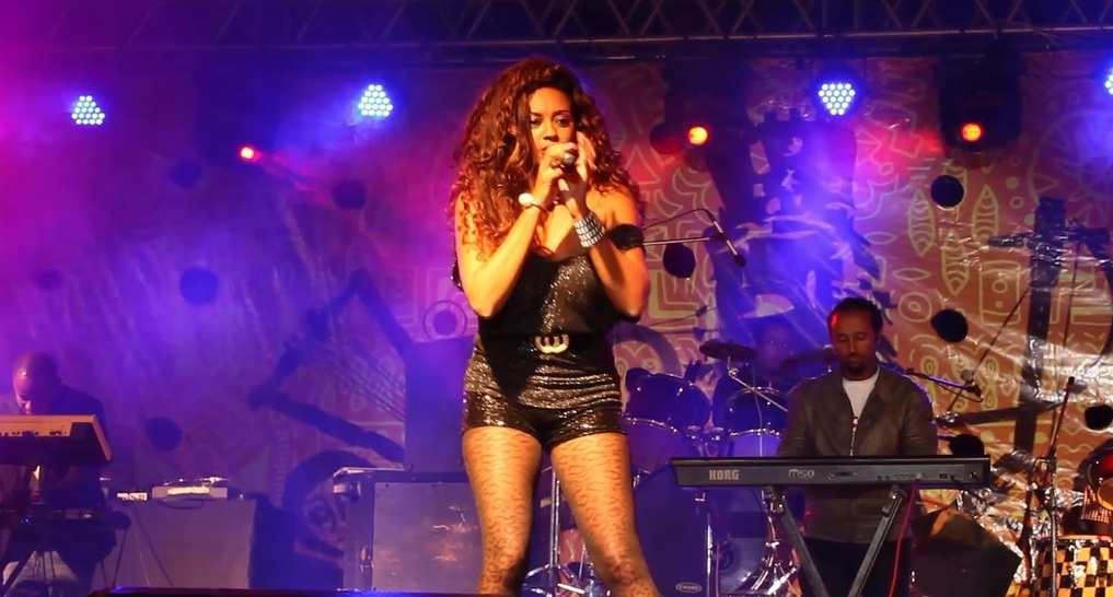 Helen Berhe Performs Live at Selam Ethiopia Festival