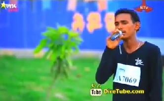 Biniyam Mulugeta Vocal Contestant Hawassa City