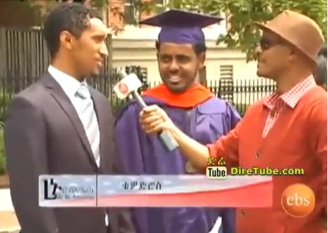 Ethiopian's Raising Flag in US Stage for Educational Excellence