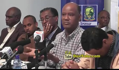 Vice President Berhanu Kebede Speaks at EEF Press Conference