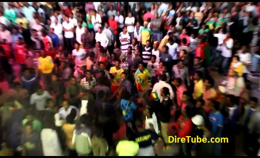 Addis is Dancing! Watch the Celebration all Over Addis