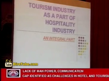 Lack of Man Power Communication gap identified as challenge in hotel & tourism