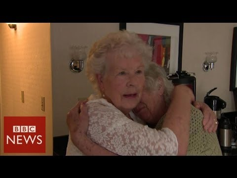 Record Breaking Twins Meet after 78 Years Apart