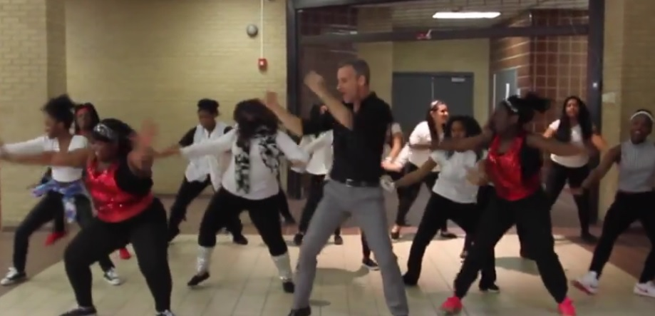 Awesome Teacher with Uptown Funk Dance