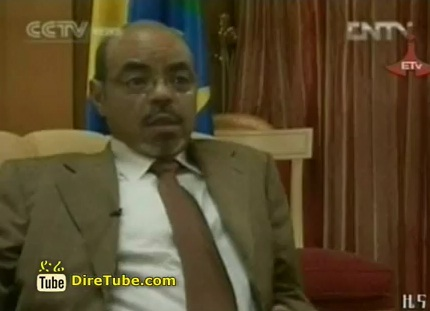 Prime Minister Meles Zenawi Interview with CCTV