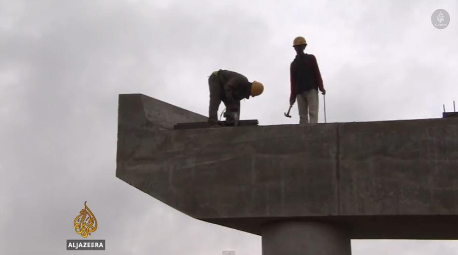 Ethiopia testing light rail system
