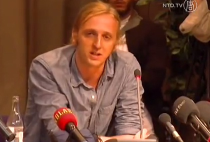 NTD.TV - Homecoming for Imprisoned Swedish Journalists