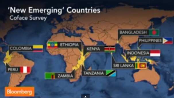 Ethiopia among the Ten Hot New Emerging economies