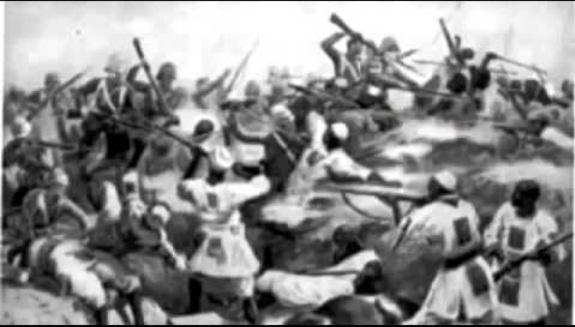 The battle of Adwa, Emperor Menelik