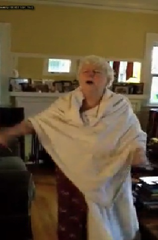 An Old White Woman Gets Hype With Teddy Afro Tikur Sew Music [Must See]