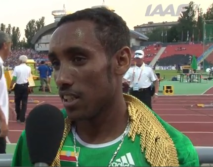 Ethiopia Gets Gold in Donetsk