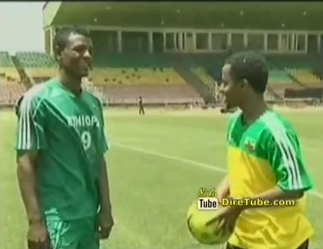 Interview with Getaneh Kebede Member of National Football Team