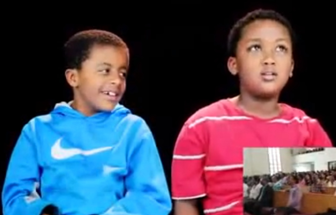 Funny Video - Watch This Funny Video of Ethiopian Kids Talking about Fathers Day
