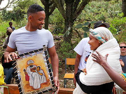 Will and Jada Smith on Providing Clean Water for Developing Community in Africa