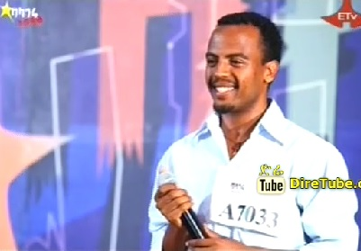 Dagnachew Girma Stage Performance Hawassa City