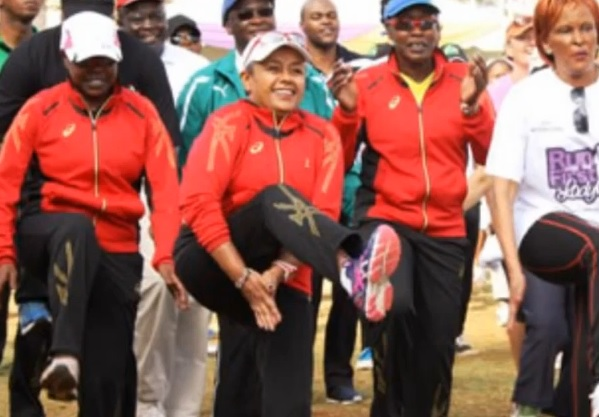 Kenyan First Lady to Participate in London Marathon