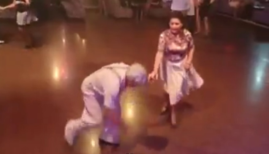 Old Couple Walks On The Dance Floor And Blows Everyone Away!