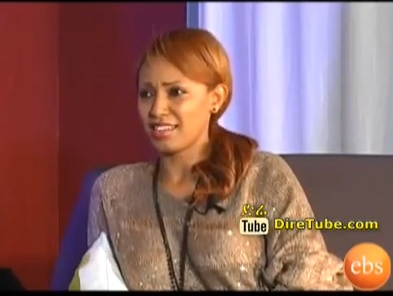 Interview with Artist Abeba Desalegn on EBS
