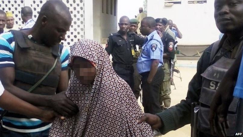 Nigerian girl says parents volunteered her as suicide bomber