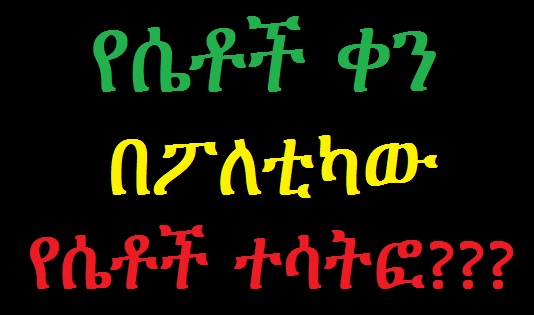 Ethiopian Women's Status in Political Participation