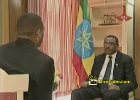 PM Hailemariam Desalegn Responding Questions Regarding Nation Issues  - Part 1