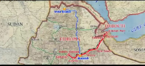 Video we Found - Ethiopia, Addis Ababa - Djibouti Railway Project [HD]
