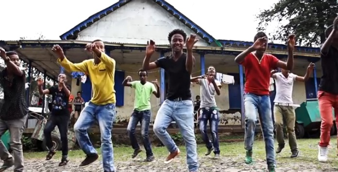 Youth group in Ethiopia create awareness about HIV through dance [Official Video]