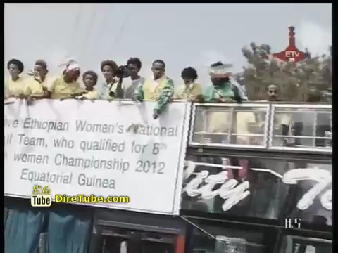 A warm welcome for Ethiopian Women Football Team