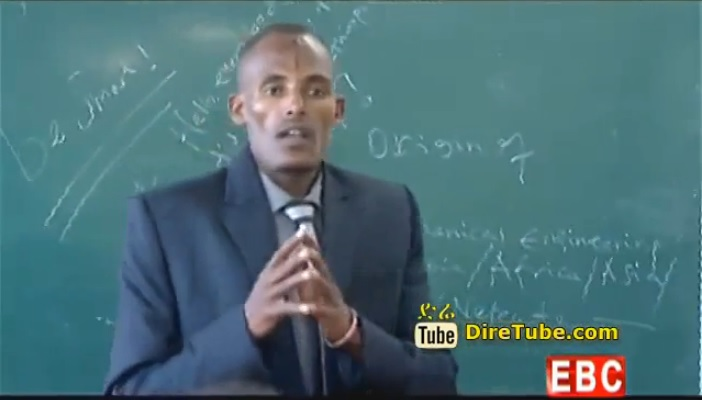 Abdisa Tolosa from Welega University - 4.00 CGPA