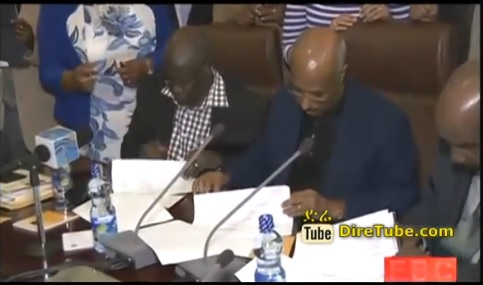 The two South Sudanese signed an agreement for the Ceasefire, EBC Nov.9