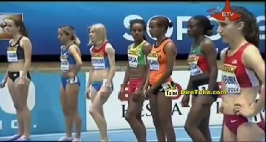 Ethiopian Athlets at 2014 IAAF World Indoor Championship