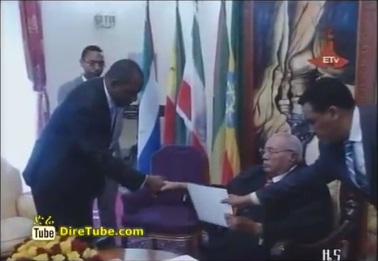 President Girma receives credentials of six new ambassadors