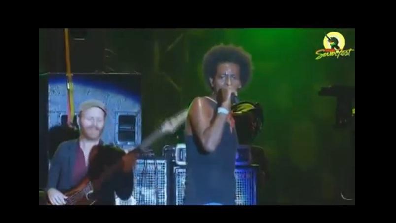 Guragigna Live at Reggae Sumfest 2014   Jamaica